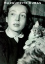 Marguerite Duras and cat